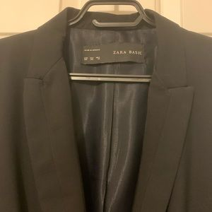 New Zara Basic black blazer